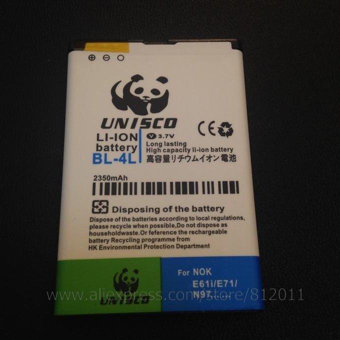 New Business 2350mAh BL- 4L Battery for Nokia E63 E71 E72 E73 N97 Battery(China (Mainland))