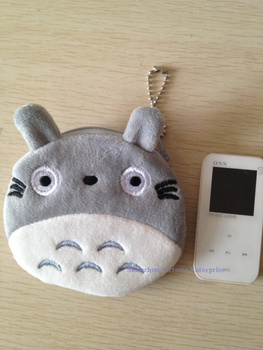 20PCS JAPAN TOTORO Cat Plush Coin Purses & Wallet Pouch Case BAG; Pendant Bags Beauty Holder Handbag
