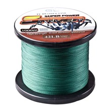 Hot Sale!!! Japan PE Multifilament Braided Fishing Line 1000M 4 Strands Rope Carp Fishing Spearfishing Cord Iinhas De Pesca Line(China (Mainland))