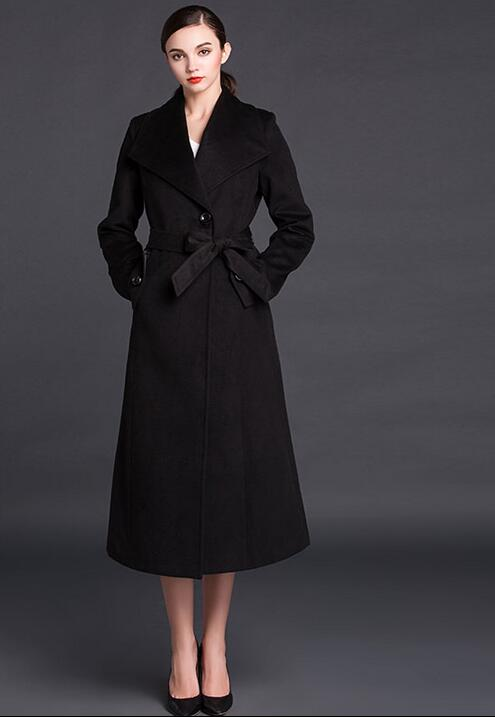 Cashmere Black Coat Women Promotion-Shop for Promotional Cashmere