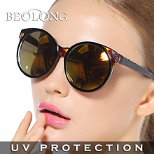 Fashion Beolong women's UV400 protection cat eye Sunglasses Driving Sun Glasses for women with Case Box 3 Colors BL434