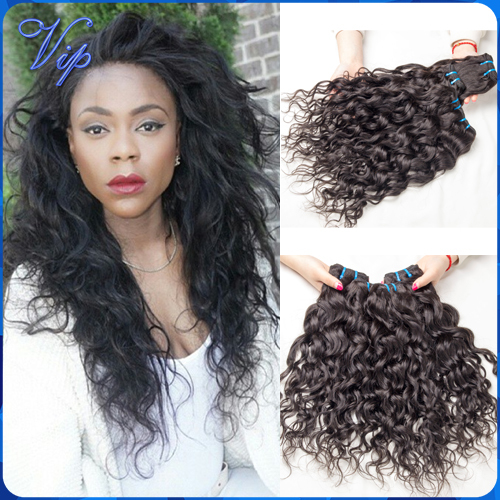 cheap 6a brazilian wet and wavy virgin hair 3pcs rosa hair products brazilian water wave brazillian virgin hair free shipping(China (Mainland))