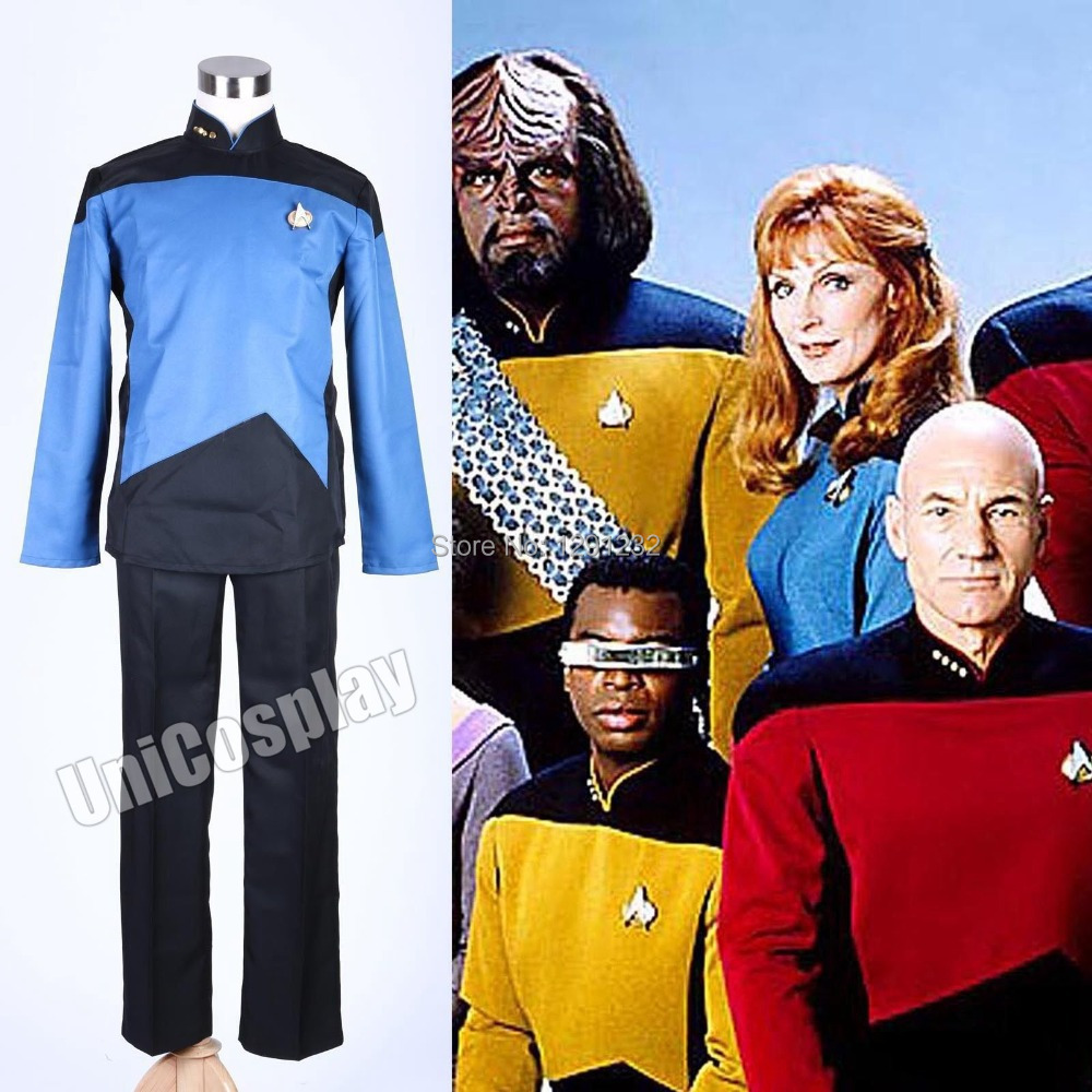 Star Trek TNG The Next Generation Uniform Set CostumeОдежда и ак�е��уары<br><br><br>Aliexpress