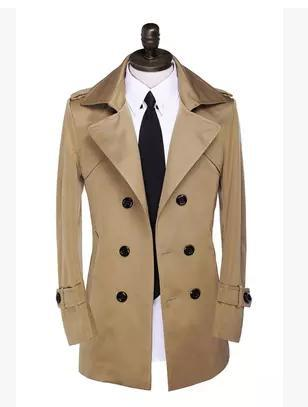 Light Grey Pea Coat