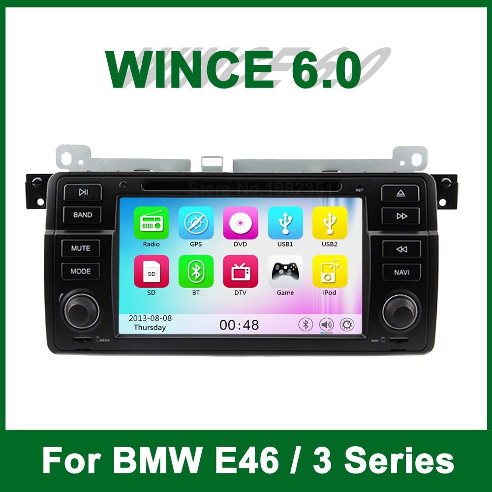 Car DVD Video Player GPS for BMW 3 Series E46 M3 318i 320i 325i 328i with Radio BT support wifi 3G Ipad TV(China (Mainland))