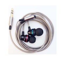 Hot Sale 3.5mm Earphone Metal headset In-Ear Earbuds For Mobile phones computers MP3 MP4 Earphones(China (Mainland))
