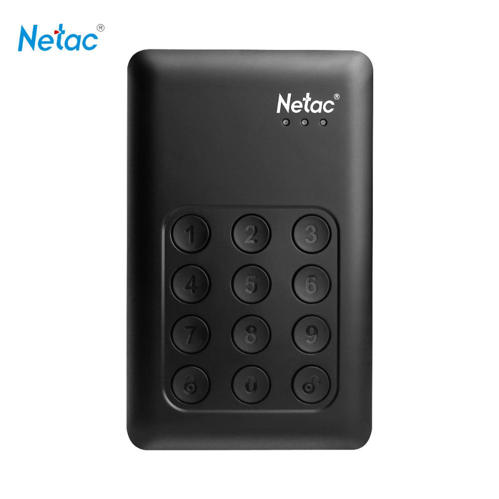 Netac K390 USB 3.0 External Hard Drive 1TB 2TB Keypad Lock AES 256-bit Hardware Encryption HD Externo Disco HDD Hard Disk 1tb(China (Mainland))