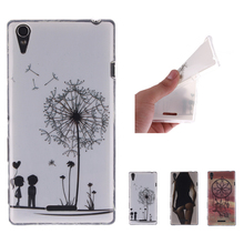 """Buy Cartoon High Silicon Case Sony Xperia T3 Case Silicone Cover M50W D5103 fundas Sony T3 Case Cover 5.3"""" for $1.63 in AliExpress store"""