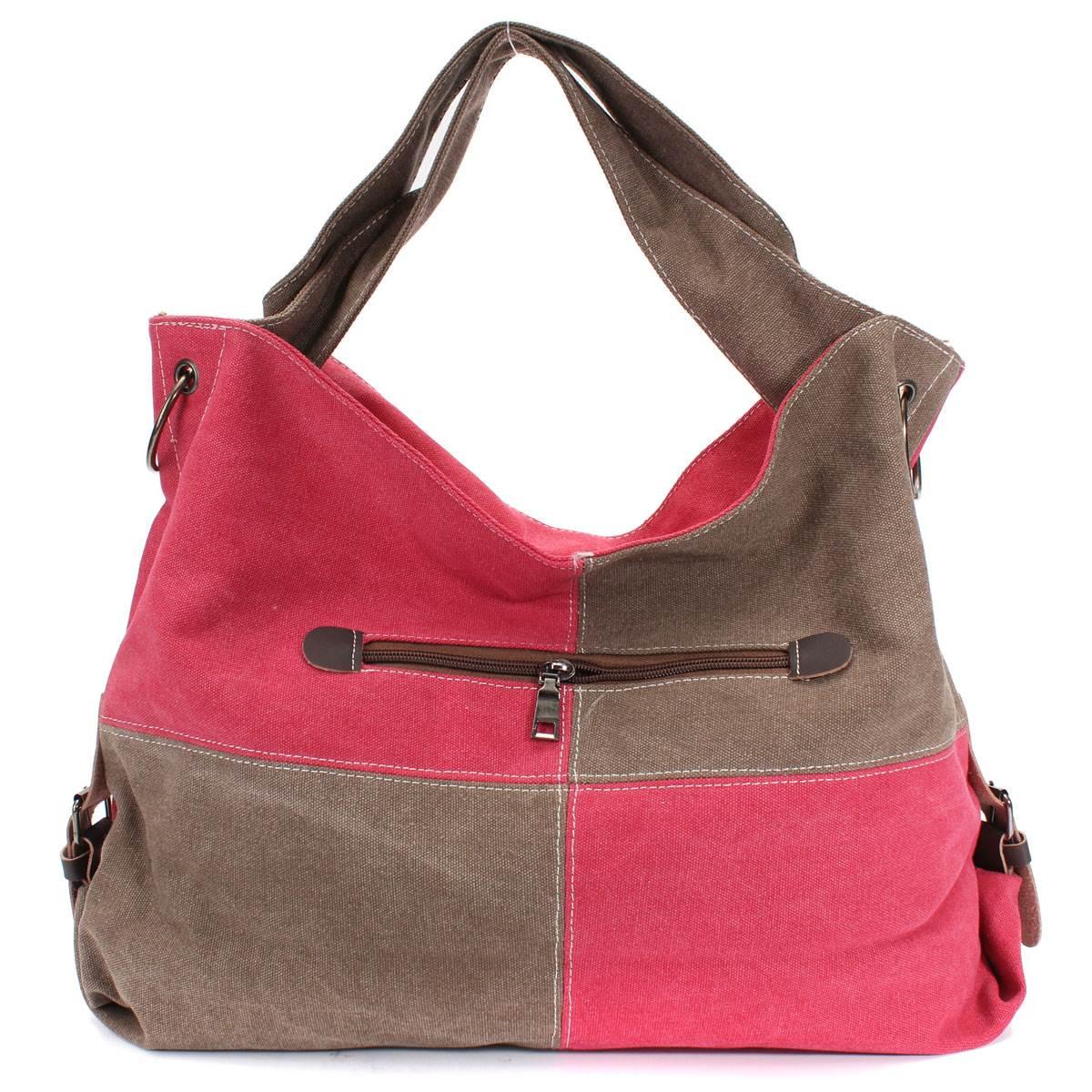 Hot Women Handbags Canvas Hobo Crossbody Bag Patchwork Plaid Brand Designer Top Quality Large Space Ladies Shoulder Bags(China (Mainland))