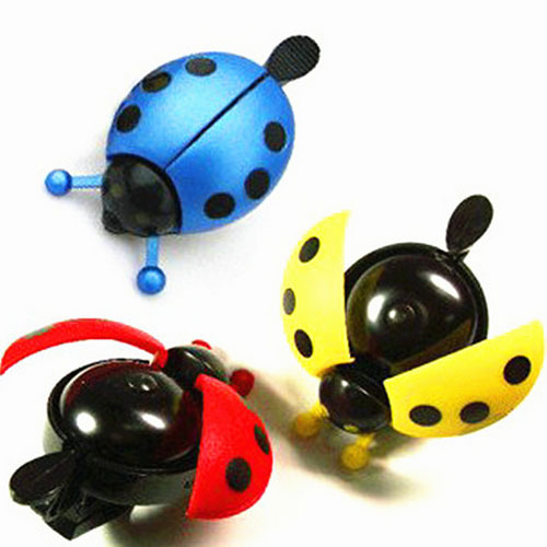 Hot Sales!Amazing Funny Bicycle Bell Bike Bell New Ladybug Cycling Bell Outdoor Fun & Sports Bike X0333(China (Mainland))