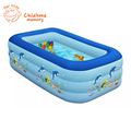 2016 The New Arrival Hot Ssle Three Storey Baby Children s Inflatable Swimming Pool Blue