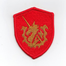 100%Embroidery GUNDAM RX94 Mass Production Type V Gundam Military Tactical Morale Embroidery Patch Badges B2447