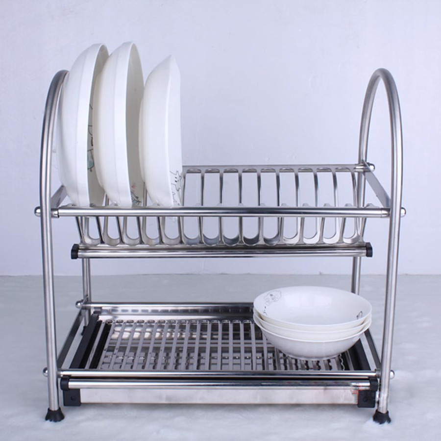 High Quality Sus304 Stainless Steel Dish Drainer Cutlery