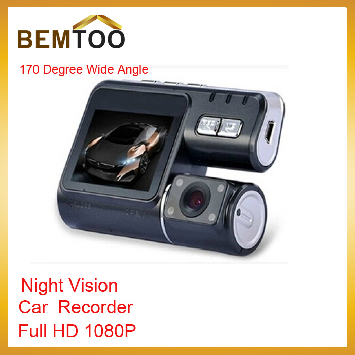 HD Car DVR I1000 Recorders with 120 degree ultra wide angle lens Car Camera Recorder Motion Detection Night Vision(China (Mainland))