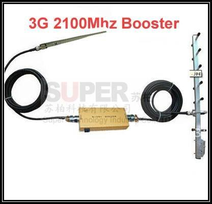 New!!! w/ 10dbi yagi antenna+15M of cable,3G booster repeater,3G kits ,WCDMA booster repeater,2100Mhz booster,2100Mhz repeater