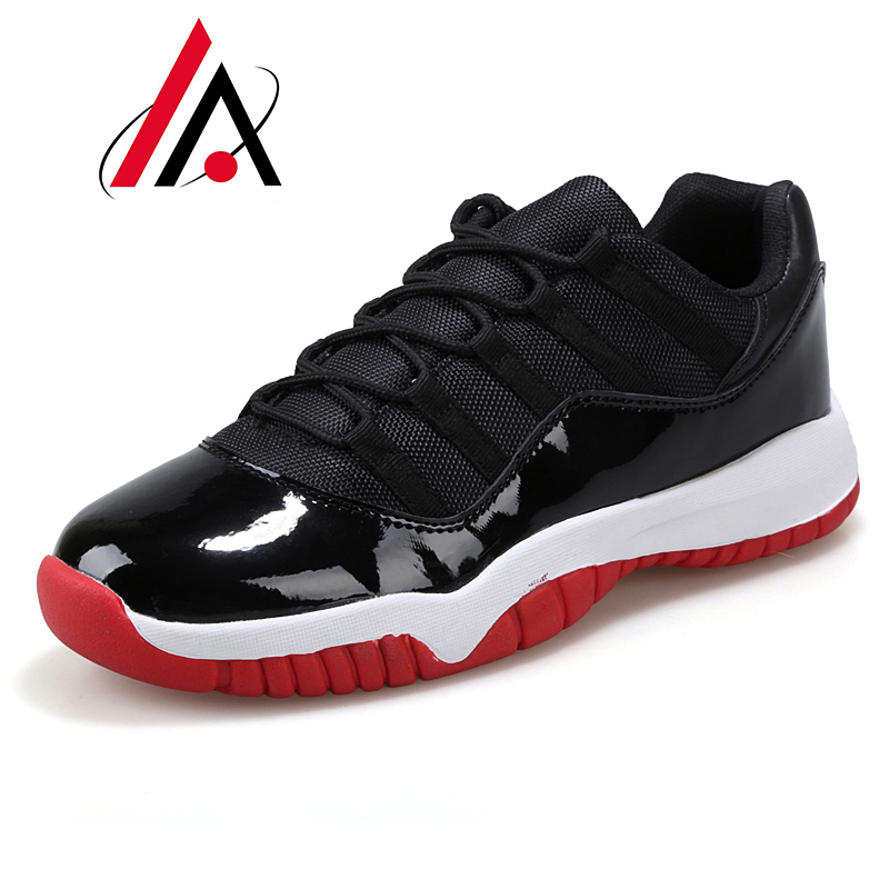 2016 New arrival basketball shoes authentic retro jordan 11 shoes cheap comfortable zapatillas hombre breathable men shoes(China (Mainland))