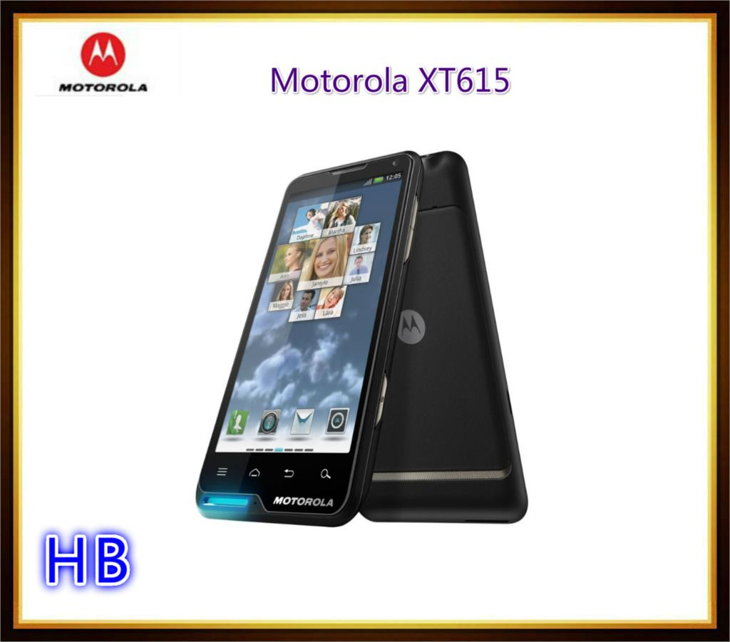 Hot sale unlocked original Motorola XT615 Android 3G SmartPhones 8MPcamera GPS WIFI cell phones Free shipping & Refurbished(China (Mainland))
