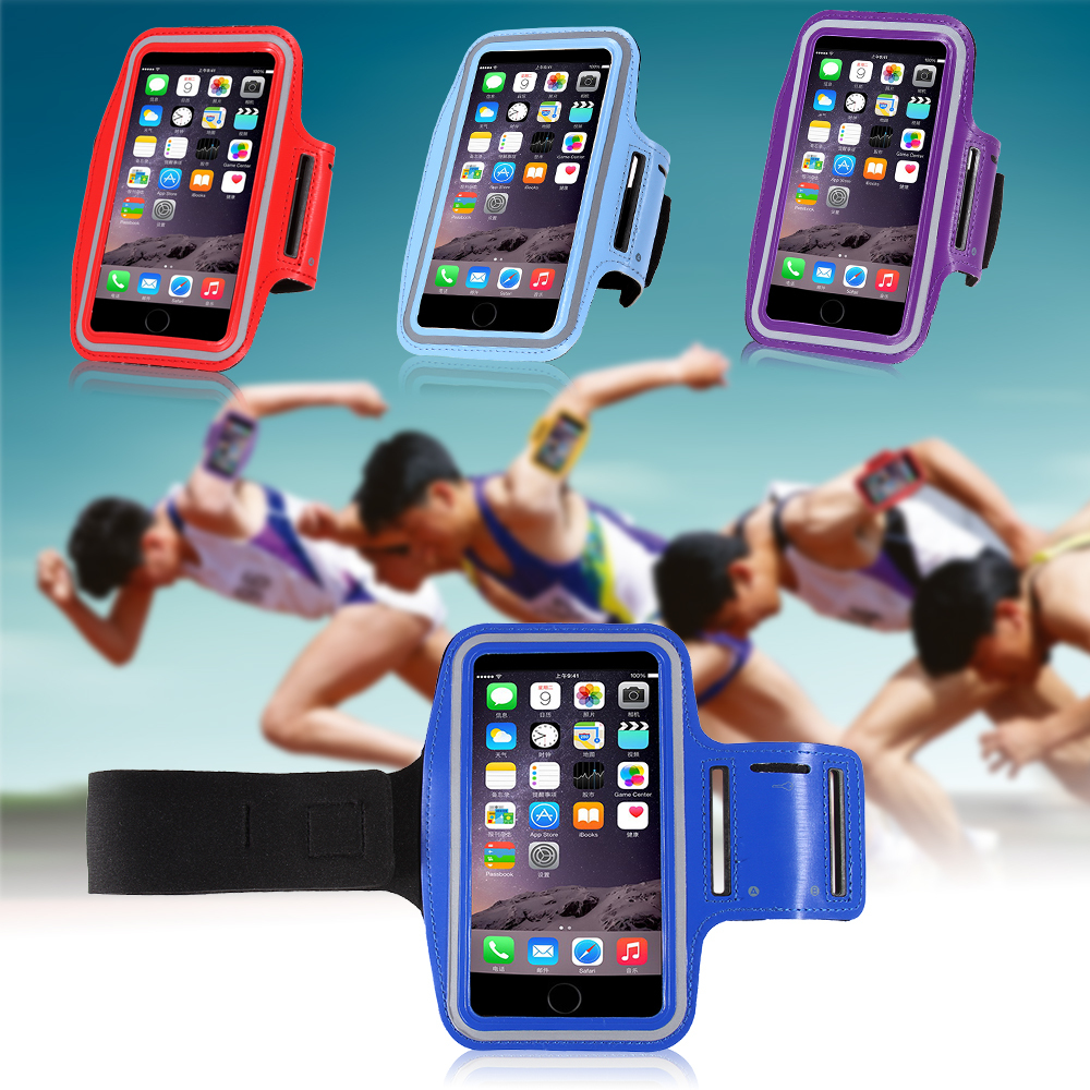 Durable Running Sports GYM Arm Band Pouch Case For iPhone 6 4.7'' For Sony Z3 Mini Workout Cover Phone Bag For Samsung Galaxy A3(China (Mainland))