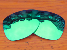 Emerald Green Mirror Polarized Replacement Lenses For Dispatch 2 Sunglasses Frame 100% UVA & UVB Protection