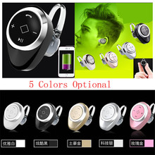 T-5 Bluetooth Headset 4 hanging ear type ultra small wireless mini 4.1 stereo car sports(China (Mainland))