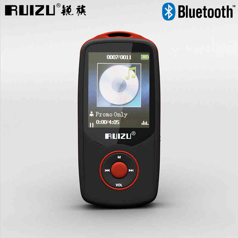 RUIZU X06 Bluetooth MP3 Player 4GB 100 Hours Lossless Sports MP3 music Player 1.8 Inch Screen FM TF Ebook Video Record Earphone(China (Mainland))
