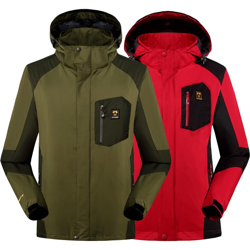 Top New winter jacket men women Down Parkas coat for men thermal Windbreaker jackets jaqueta Waterproof Windproof three-pieces(China (Mainland))