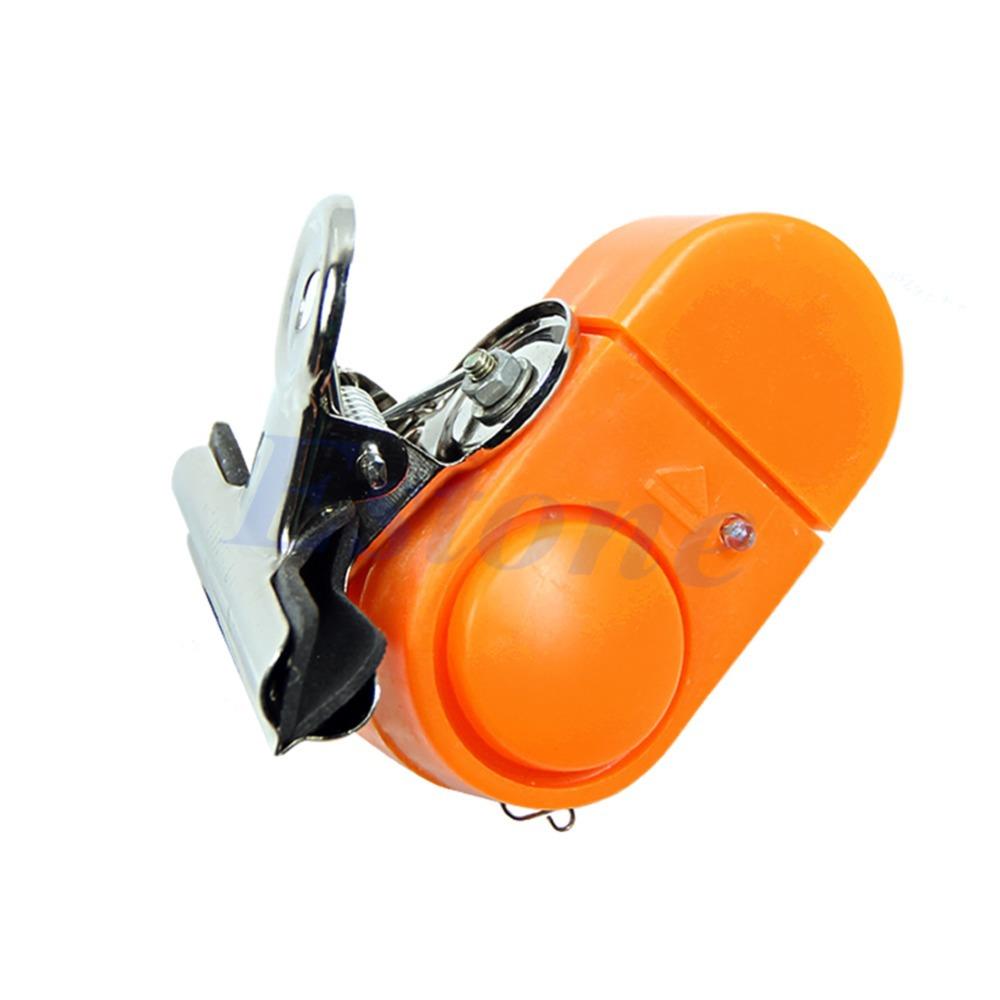 Электронный ночная рыбалка сигнализации оповещения звук набат клип на удочку с из светодиодов свет