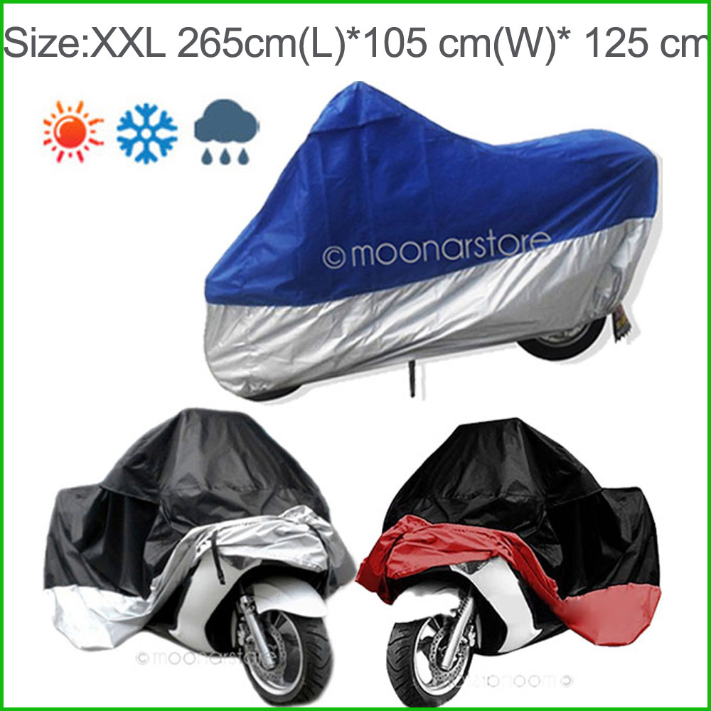 2017 Waterproof UV resistant Motorcycle Cover Anti-dust Washable UV Resistant Vehicle Cover