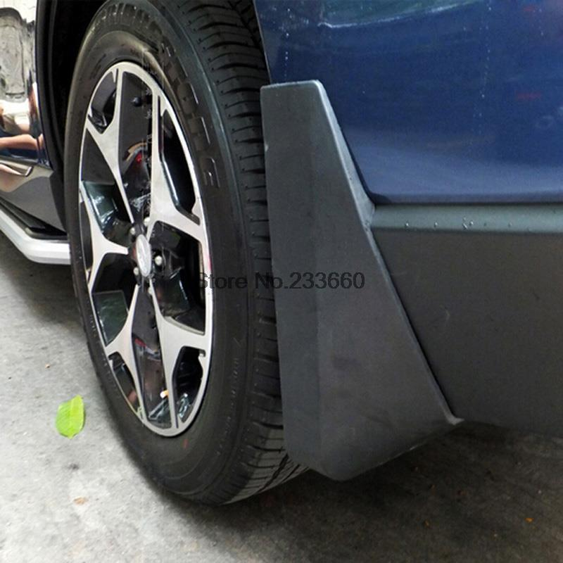 For Subaru Forester 2013 2014 Mud Flaps Splash Guards Fender Mudflap Mudguard(China (Mainland))