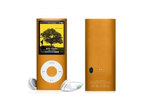 """Free shipping 8GB 2.2"""" LCD MP5 Player with Scroll Touch Click+Camera"""