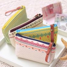 1 lot/2pcs New Fashion women Novelty beauty mini Case 13cmx8cm wallet Tool Bag Storage Zipper Pouch Purse wholesale price(China (Mainland))