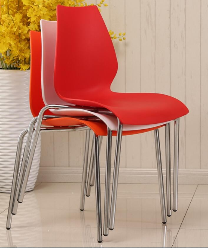 plastic chairs office training conference chair hotel dining moderne