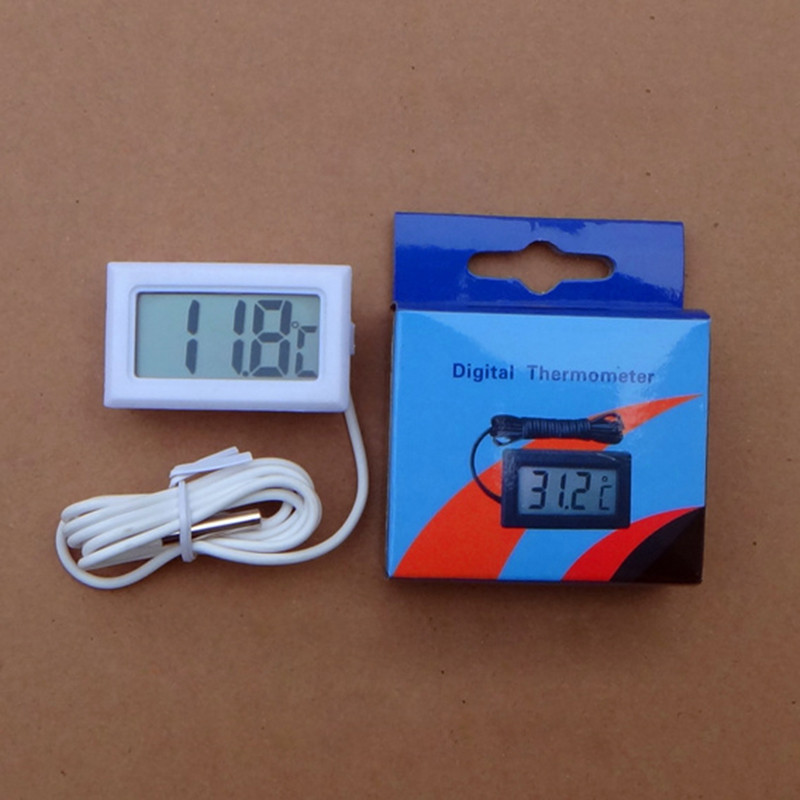 Digital Electronic Thermometer Car Thermometer Instruments Humidity Hygrometer Temperature Meter Sensor Pyrometer Thermostat