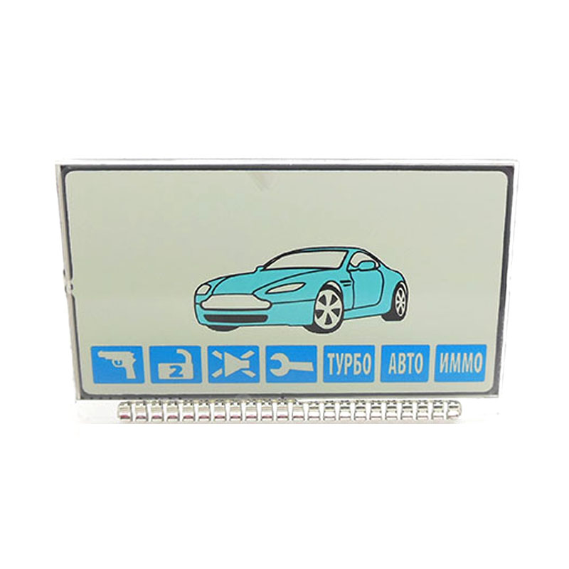 Russia version A61 Lcd display for Starline A61 / B6 Dialog LCD Two Way Car Alarm System free shipping(China (Mainland))