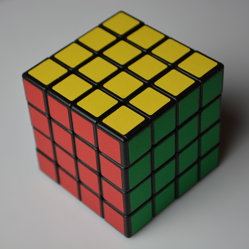 Shengshou Matte Stickers Speed 4x4x4 Magic Cube Puzzles 4 Layer Cubo Magico Learning & Education Toy