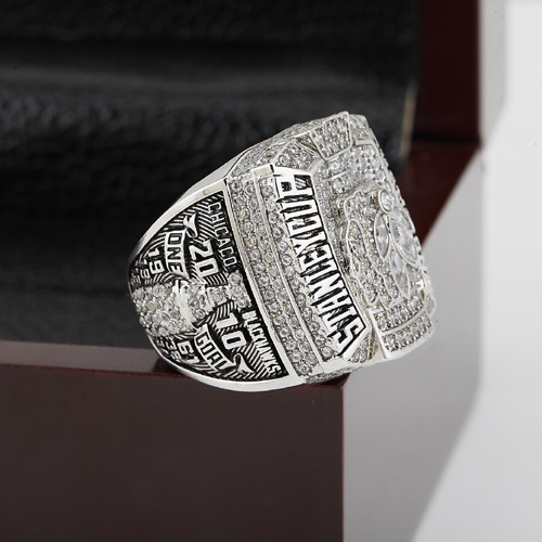 2010 NHL Chicago Blackhawks Hockey Stanley Cup Championship Ring With High Quality Wooden Box Christmas Fans Best Gift Replica(China (Mainland))