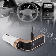 CAR G7 FM Bluetooth Transmitter Car MP3 SD Charger Radio USB Port Players MA350