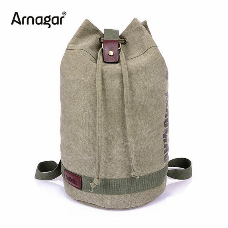 2014 New mens backpacks Sports man Canvas shoulder bags Coffee Black Military shoulder school bags<br><br>Aliexpress