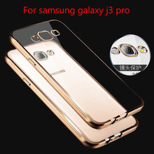 2016 j 3 pro luxury case samsung galaxy j3 rose gold tpu transparent ultra slim clear soft silicon silicone cover - YUETUO Let's Go Shopping Store store