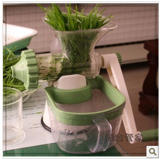 Healthy Juicer Manual Hand Powered Wheatgrass fruit juicer - Your Coffee Sky store
