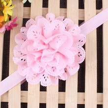 Buy 2 pcs Lovely Girls Kids Elastic Big Flower Floral Tiara Hairband Headband Headwear Hot Hair Band Accessories for $1.08 in AliExpress store