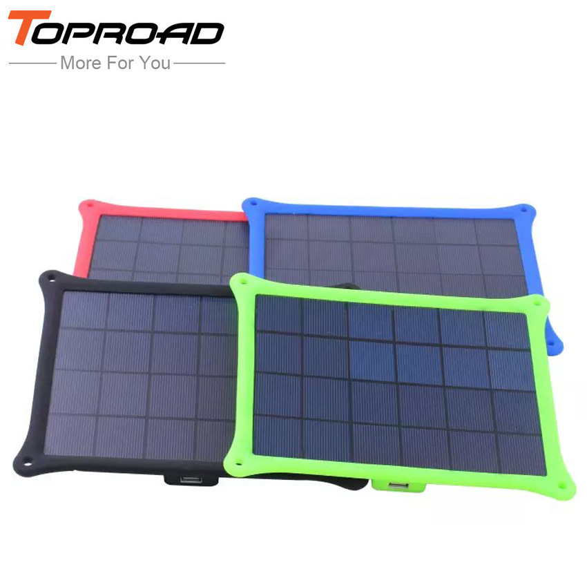Portable Outdoor 5w Solar Panel Power Charge External Battery Mobile Charger Backup For All Smart Phones PDA MP3/4 Camera etc(China (Mainland))