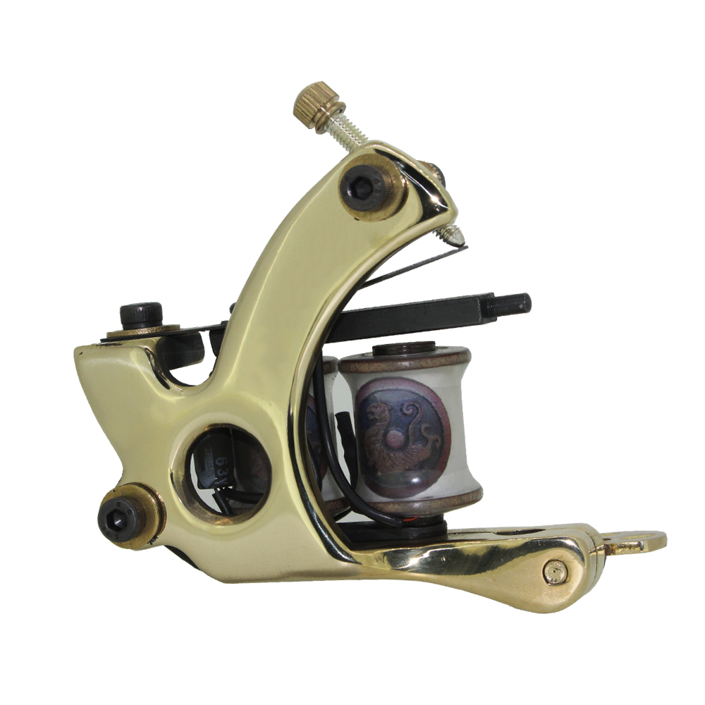 Free Shipping! Hot Professional Handmade Tattoo Machine Retail or Wholesale 10 Wrap Coils SHADER Machine 1100264-1<br><br>Aliexpress