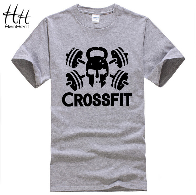 New cheap tees crossfit t shirts mens gym training t shirt for Best fitness t shirts