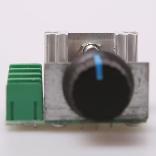 2pcs PWM AC Motor Speed Controller with Knob 50~220 V(China (Mainland))