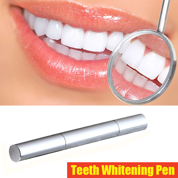 Teeth Whitening Pen Tooth Gel Whitener Bleach Stain Eraser Remove Instant Free Shipping 1 PCS(China (Mainland))