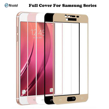 Buy Full Cover Tempered Glass Samsung Galaxy J2 J5 J7 Prime A710 A510 A310 Note4 Note5 A3 A5 A7 2017 Cover Screen Protector Film for $1.29 in AliExpress store
