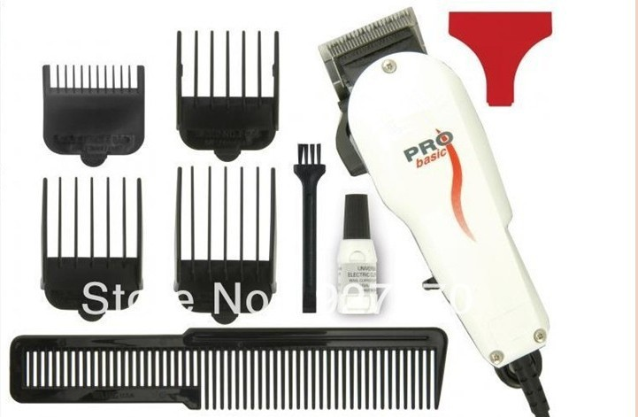 91403 Free Shipping Best Selling 110/230V Professional Pro Basic Hair Clipper Barber Salon Haircut Corded Clipper(China (Mainland))