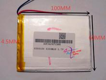 best battery brand New 4560100 3.7v 4200mah tablet battery Polymer battery 3.7V elf cube U25GT , Onda 7 Inch / DVD polymer batte(China (Mainland))