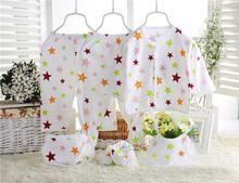 2016 New Kids Baby Girls Pajamas Set Spring Autumn Sleepwear Children Pyjamas pajama set 6pc(China (Mainland))